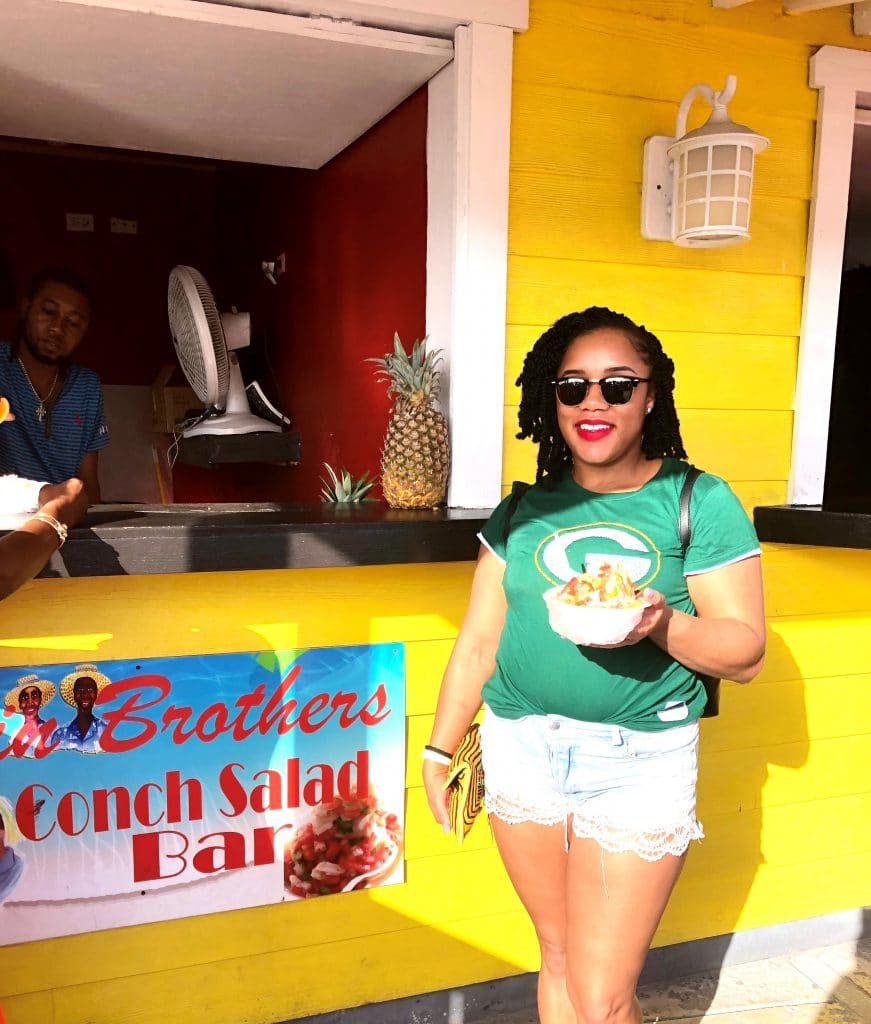 Nassau Bahamas Travel Guide: getting my conch salad  fix