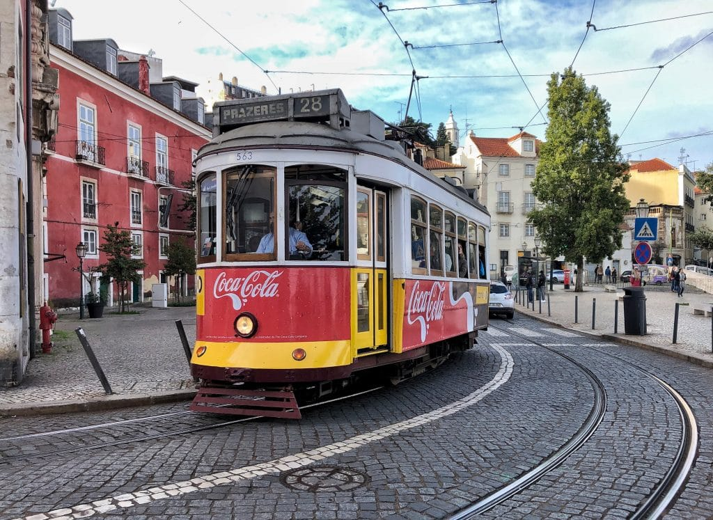 Lisbon Solo Trip: #28 Tram
