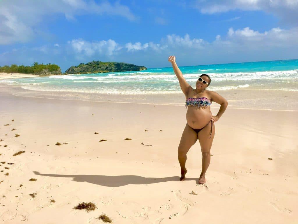 Bermuda Babymoon_Horseshoe Bay Beach