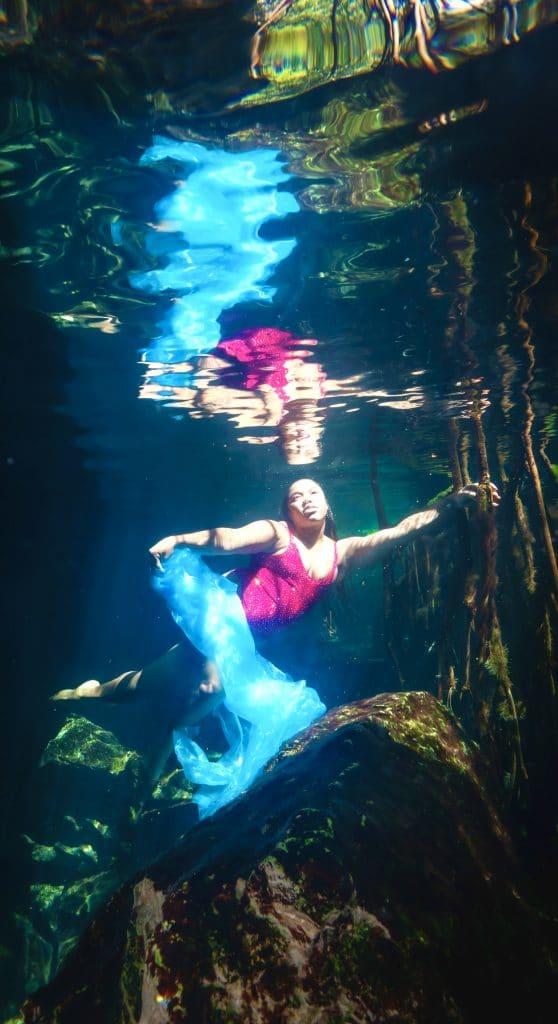 Underwater Photoshoot_Cenote