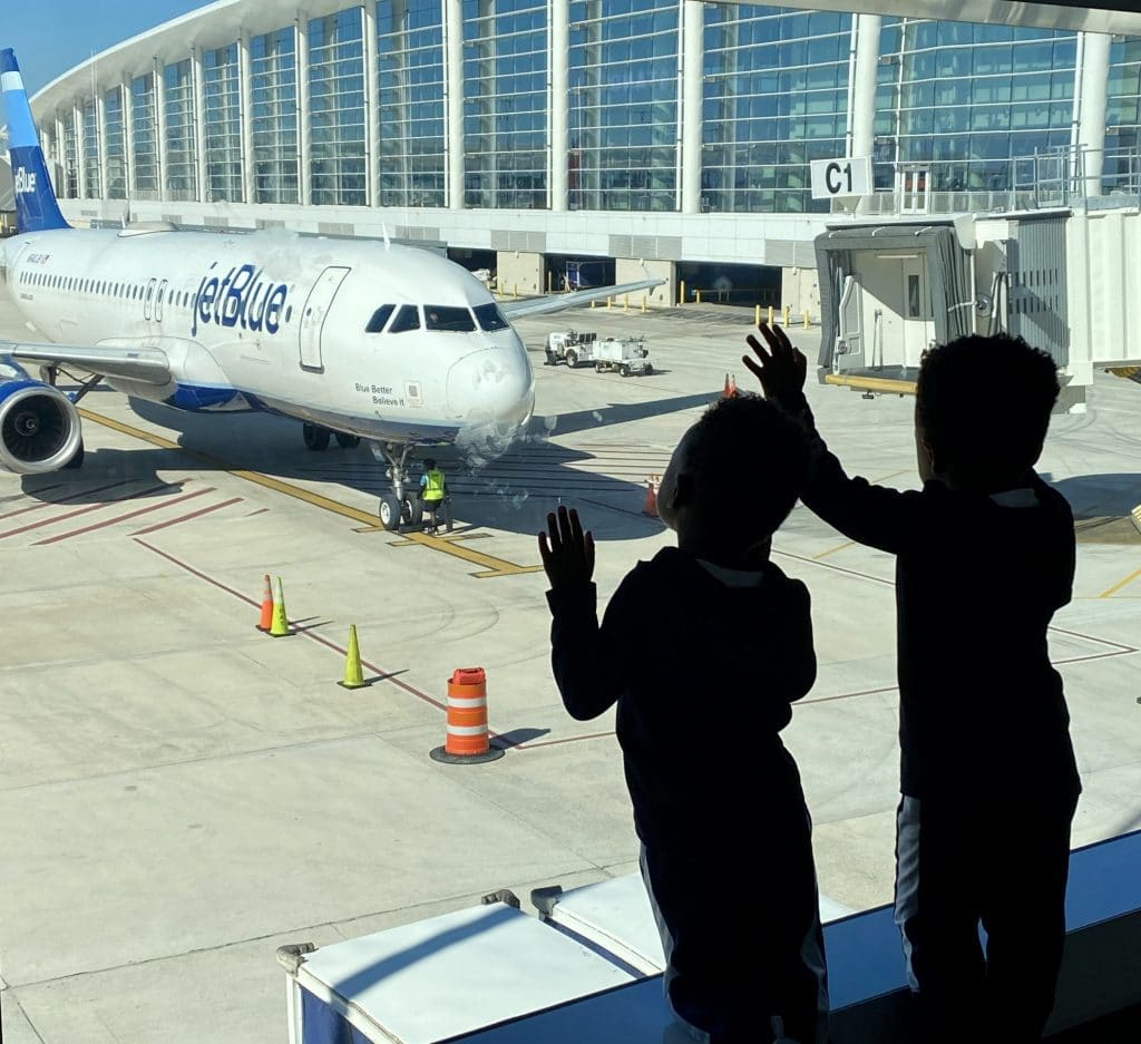 Fly with kiddos during Covid_airline