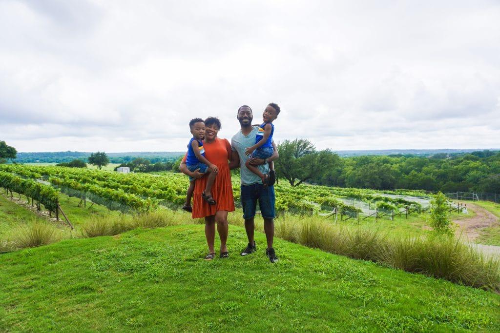 Waco Family Trip_Valley Mills Vineyards