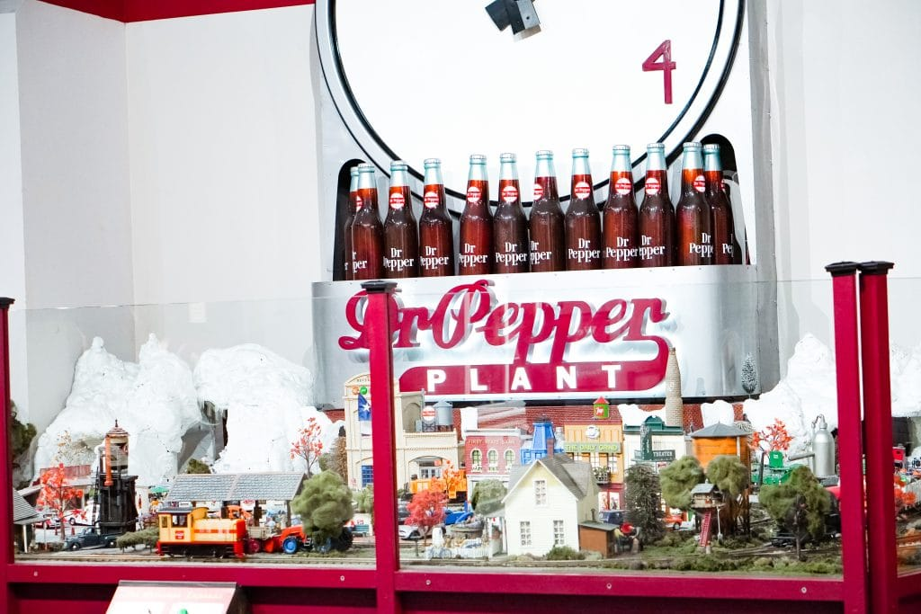 Waco Dr Pepper Museum Train